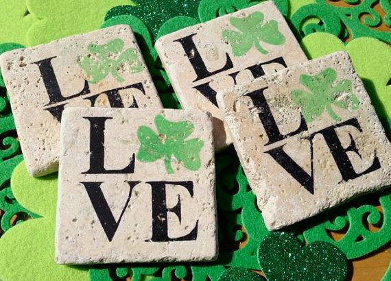 St Patricks Day Coasters