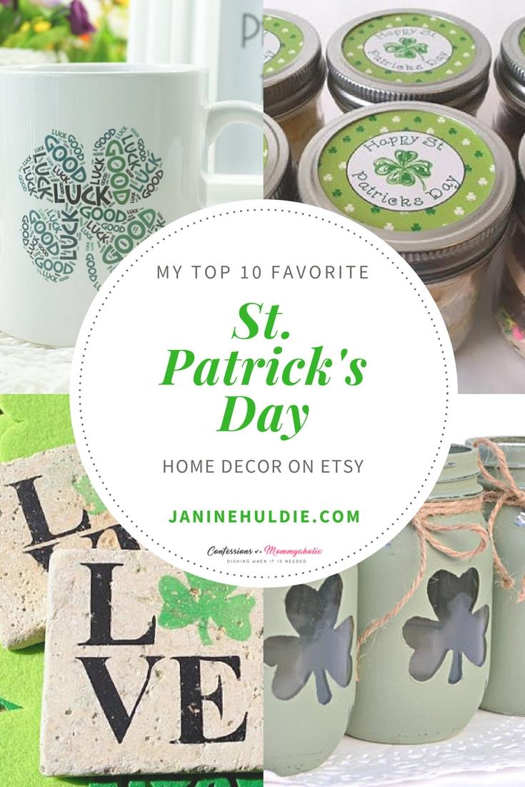 St Patricks Day Etsy Roundup