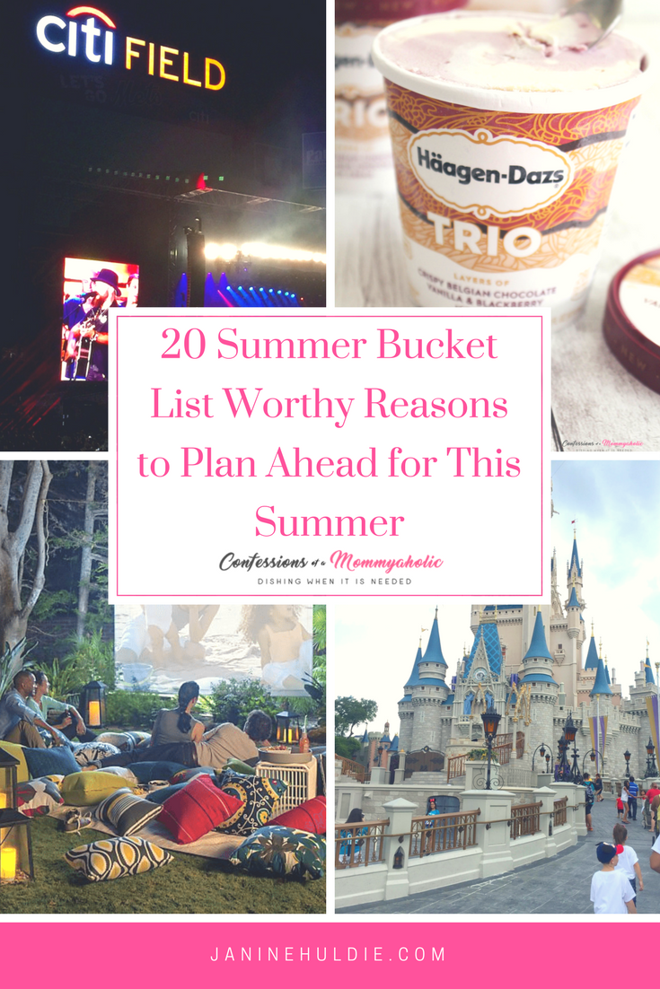 20 Summer Bucket List Worthy Reasons to Plan Ahead for This Summer