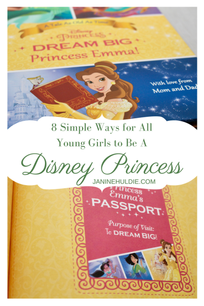 8 Simple Ways for All Young Girls to Be A Disney Princess
