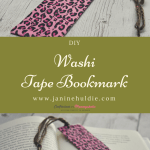 DIY Washi Tape Bookmark for All Book Lovers