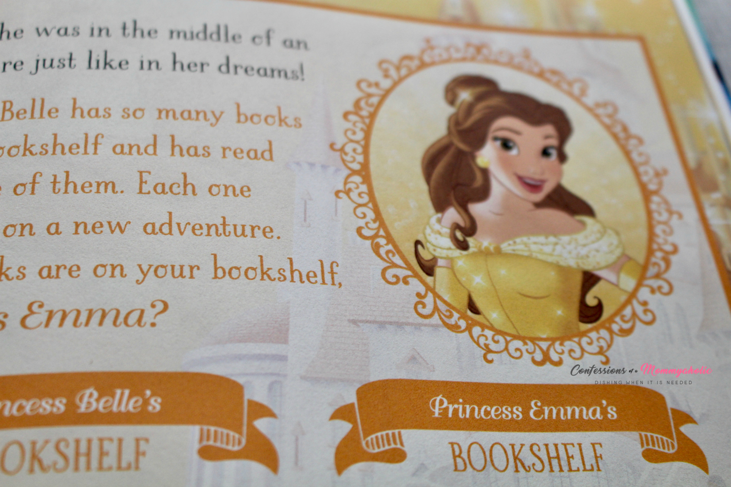Personalized Princess Belle Activity Page