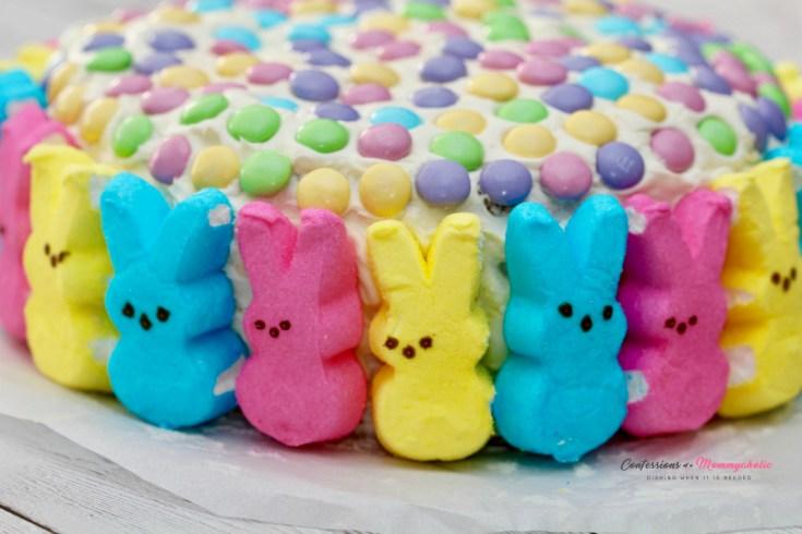 Peeps Bunnies EasterCake Recipe
