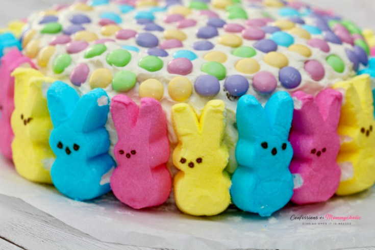 Peeps Bunnies Easter Cake, This Mom's Confessions