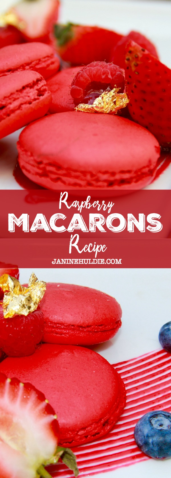 Raspberry Macarons Recipe
