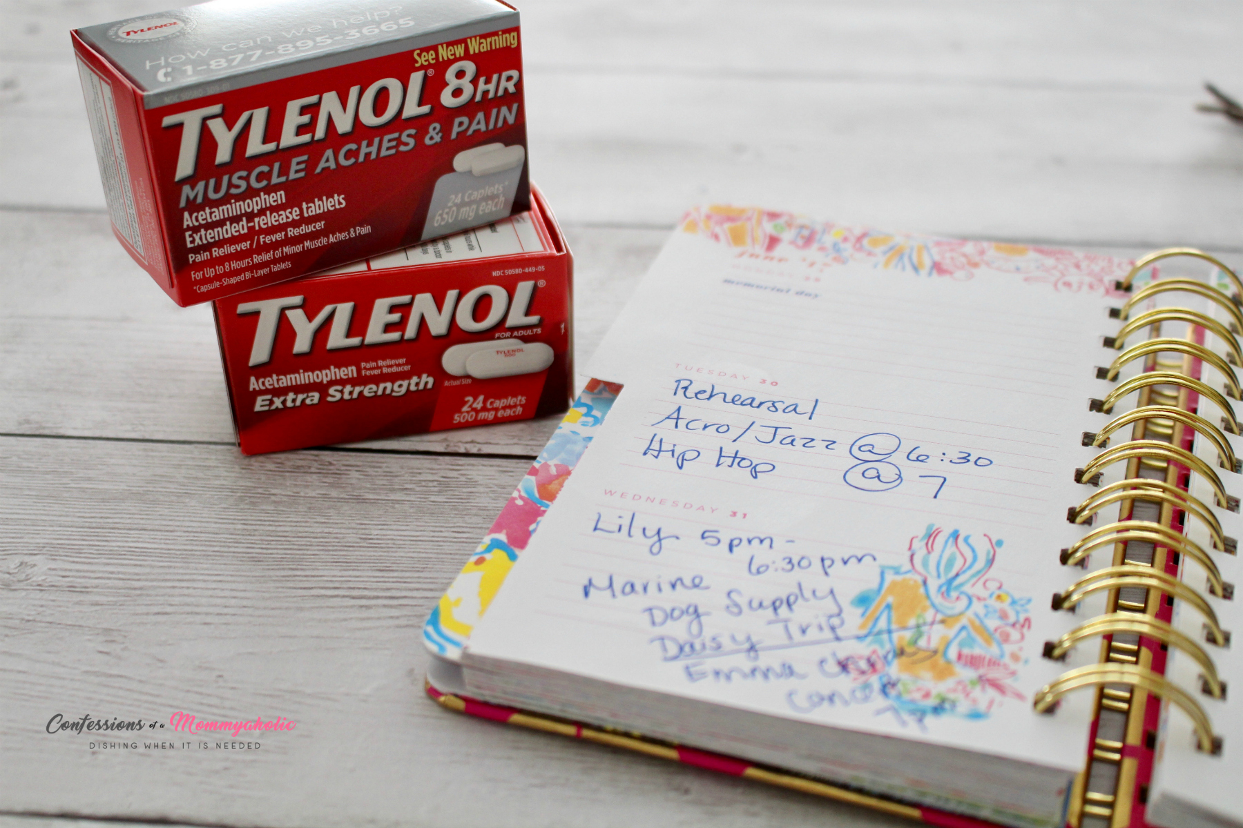 Tylenol and Planner