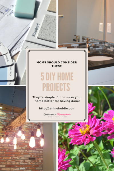 5 DIY Home Projects Moms Should Consider