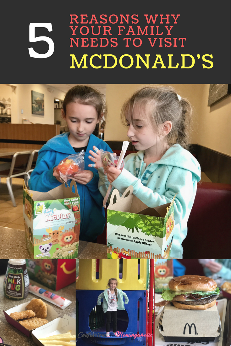 McDonald's, This Mom's Confessions