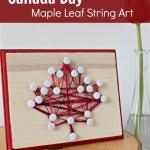Canada Day Maple Leaf String Art TSSBH