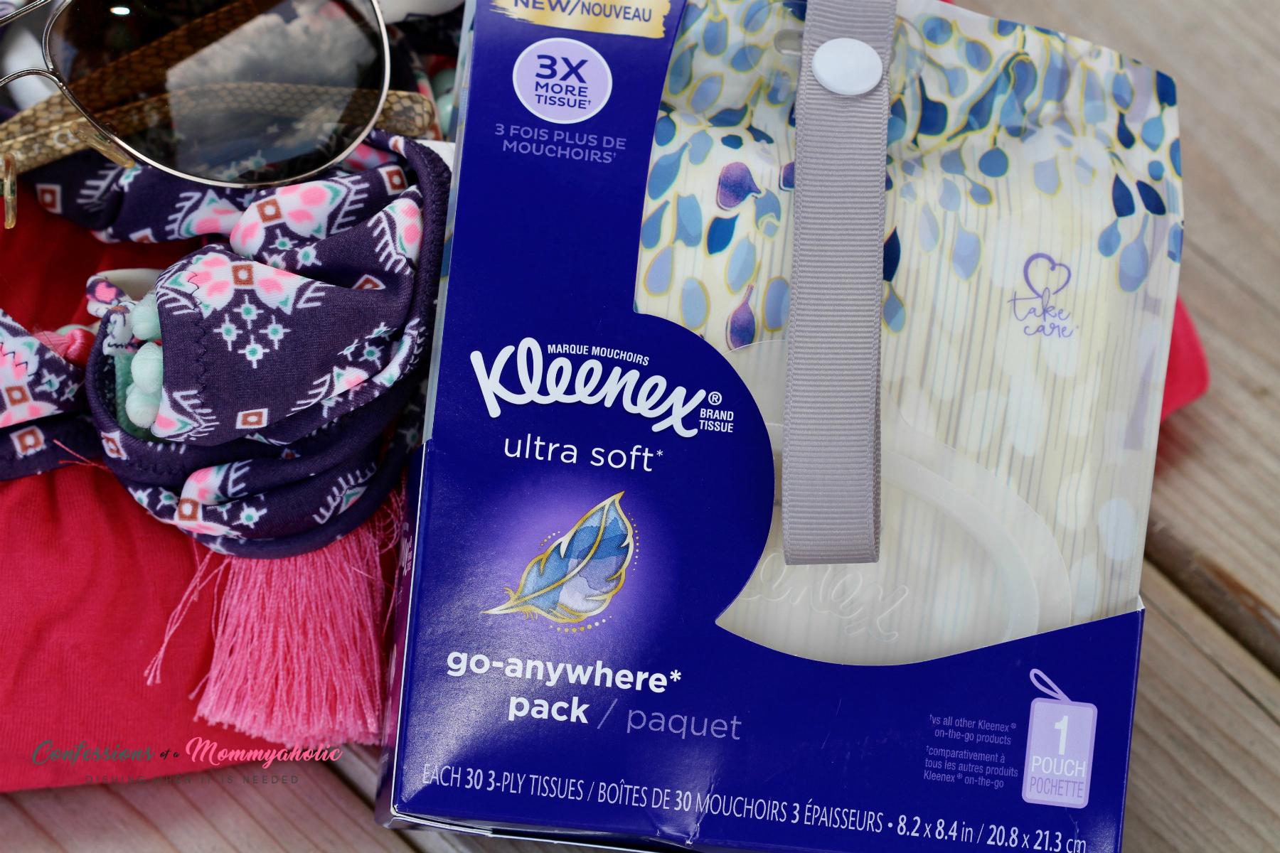 Kleenex Go Anywhere Pack Closeup