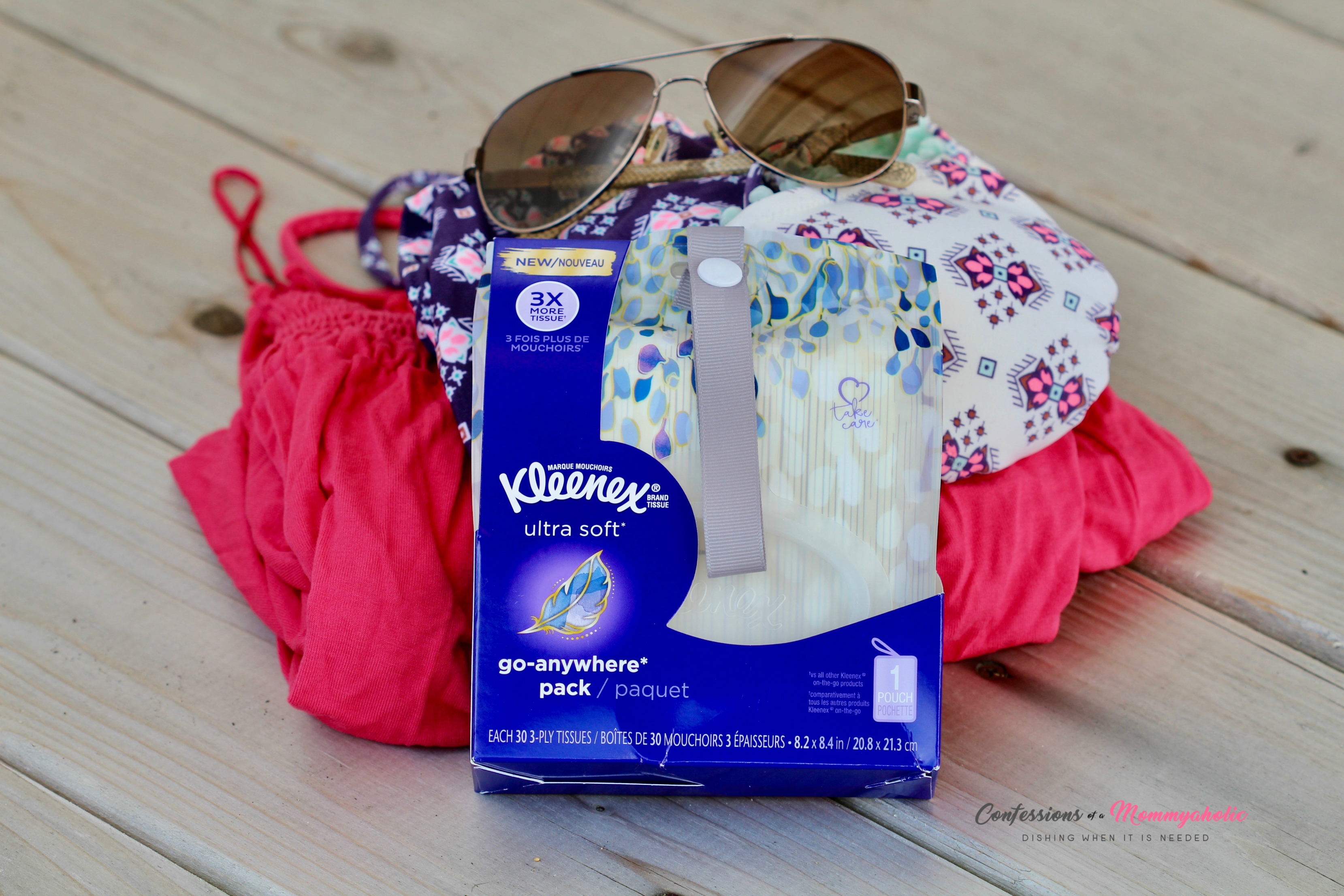 Kleenex Go Anywhere Pack Zoomed Out