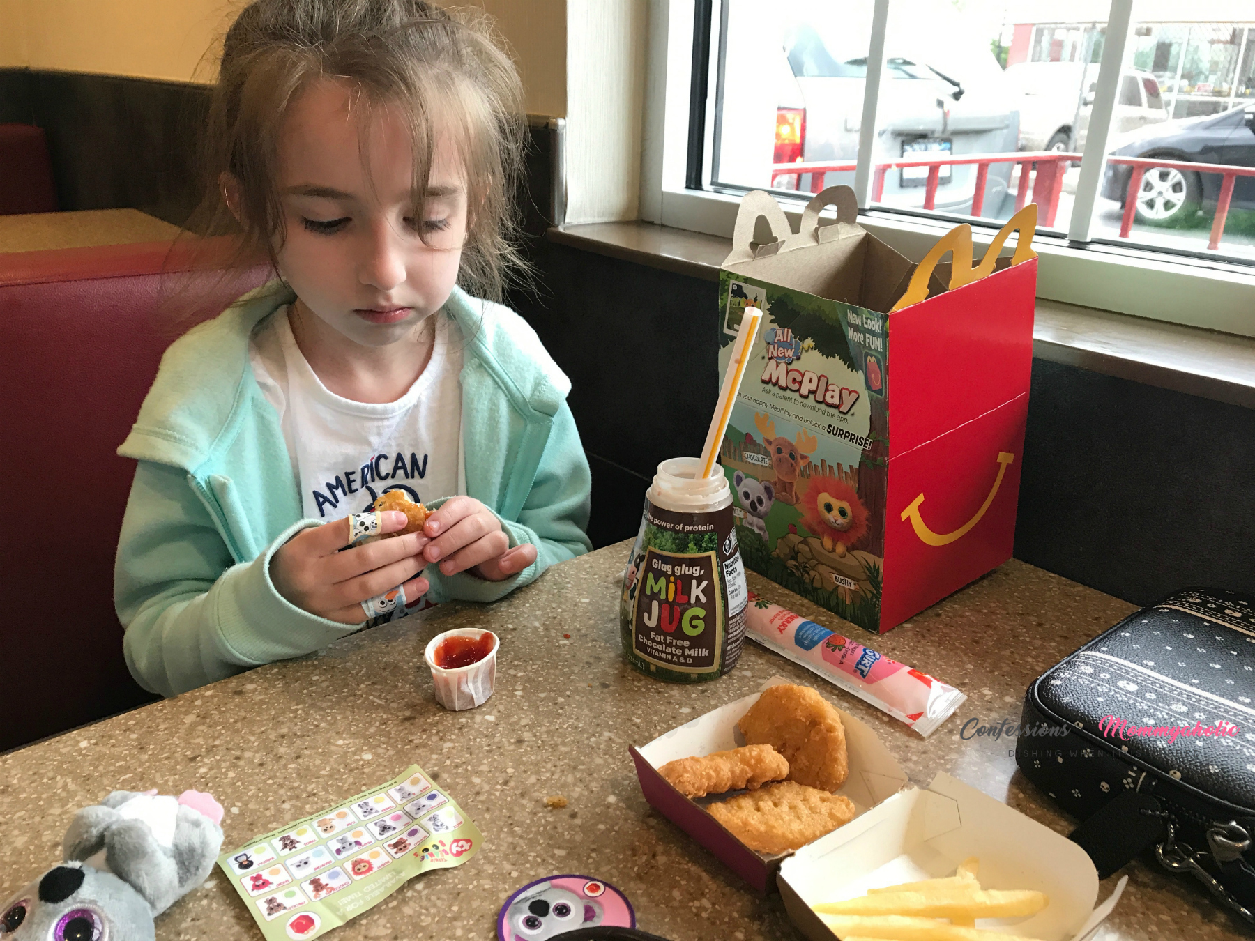 My picky eater eating McDonald's Chicken Nuggets