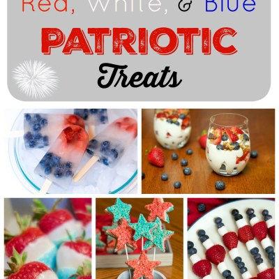 Easy Red, White & Blue Patriotic Treats TSSBH