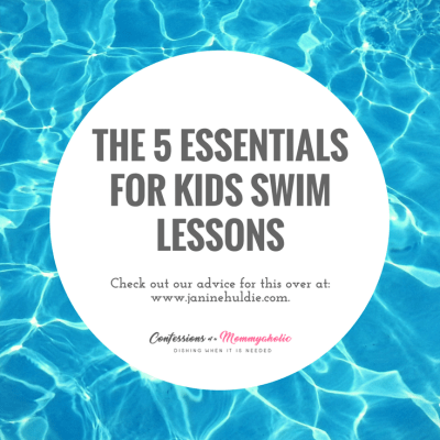 The 5 Essentials for Kids Swim Lessons