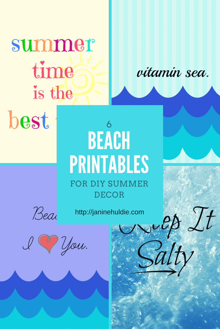 Beach Printables, This Mom's Confessions