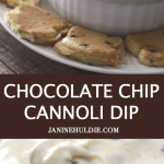 Chocolate Chip Cannoli Dip with Cinna-Toast Dippers