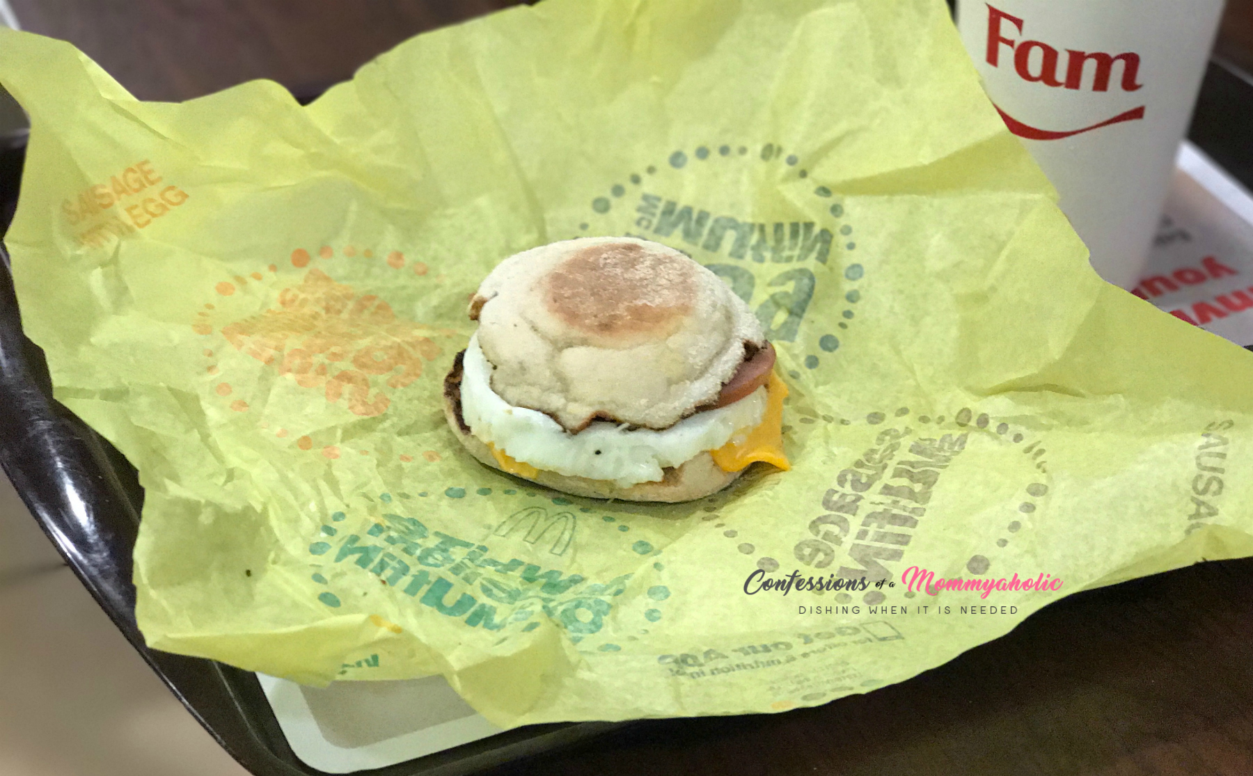 McDonald's Breakfast Egg McMuffin