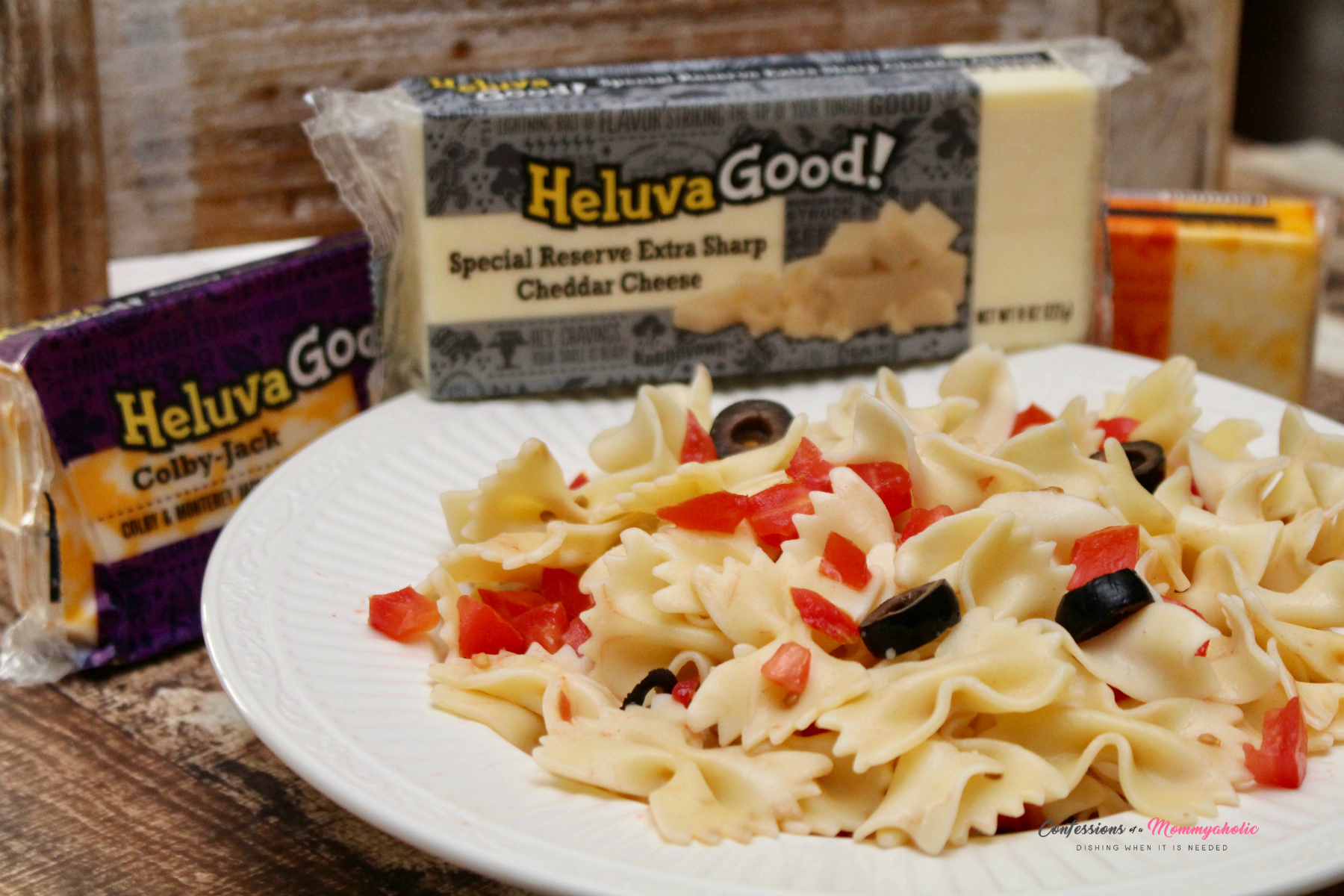 Heluva Good Pasta Salad with Cheeses