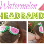 DIY Watermelon Headband TSSBH