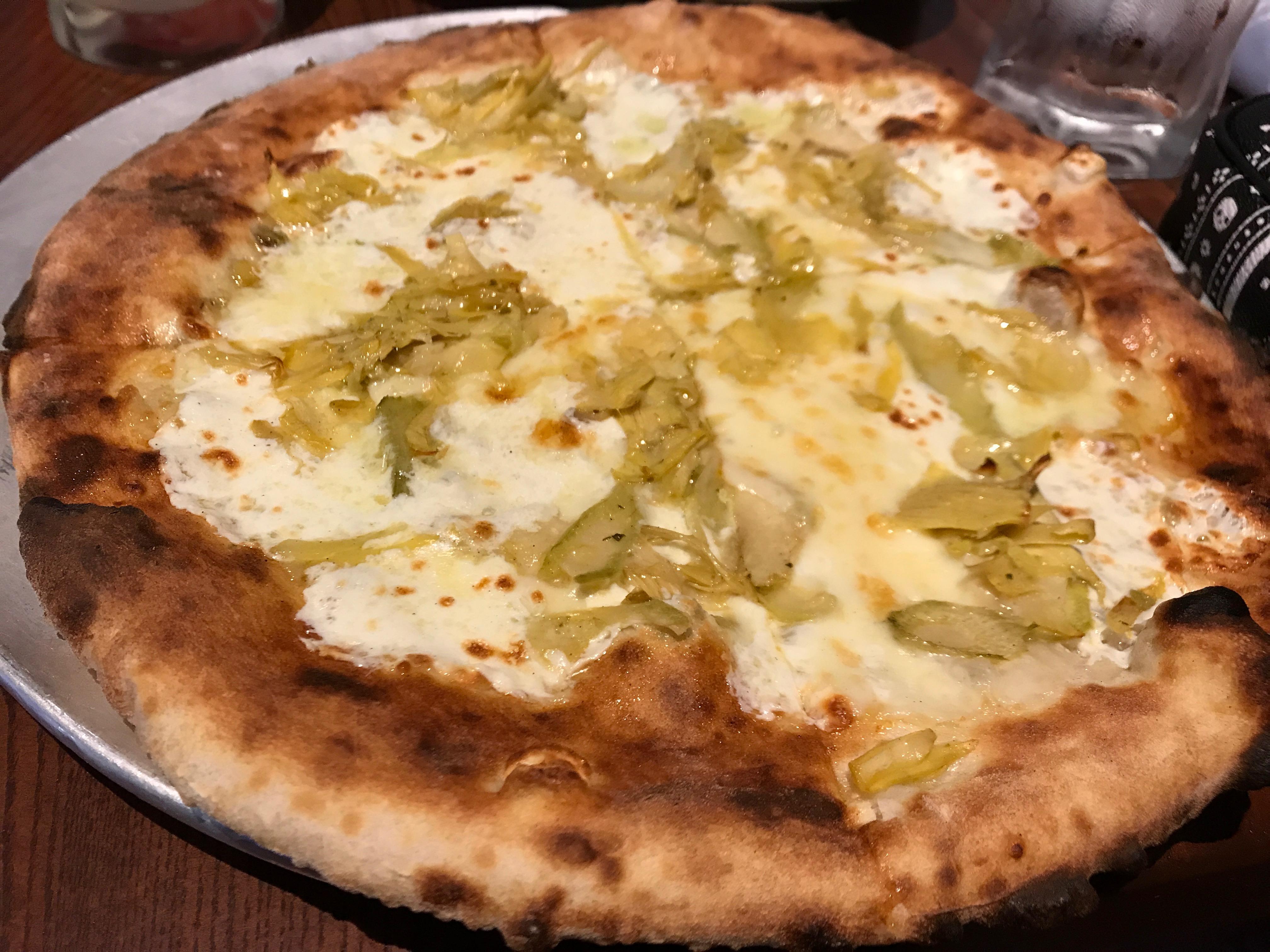 Disney Epcot Italy Via Napoli Artichoke Pizza