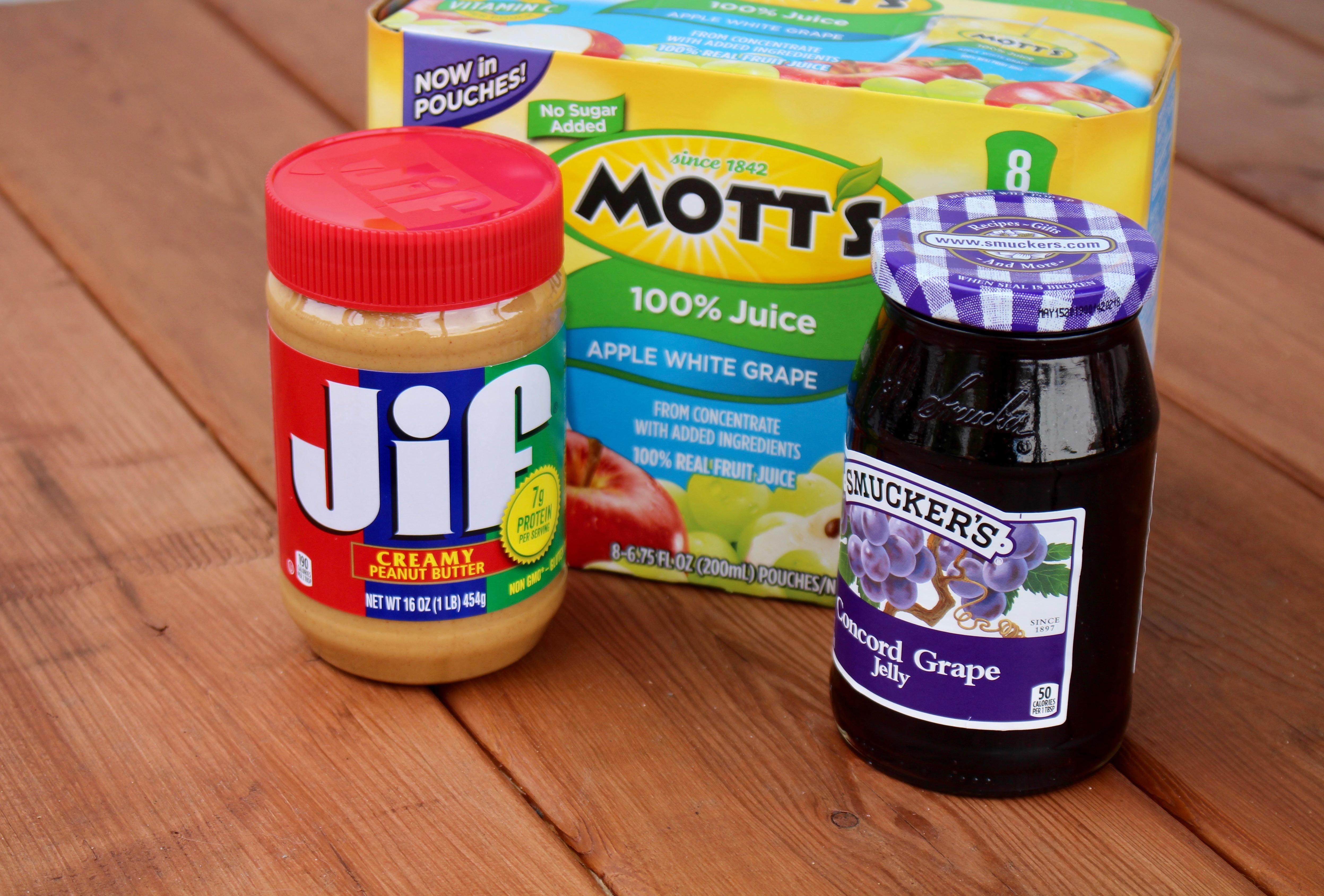 Jif, Smucker's and Mott's