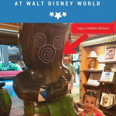All About Hidden Mickeys at Walt Disney World
