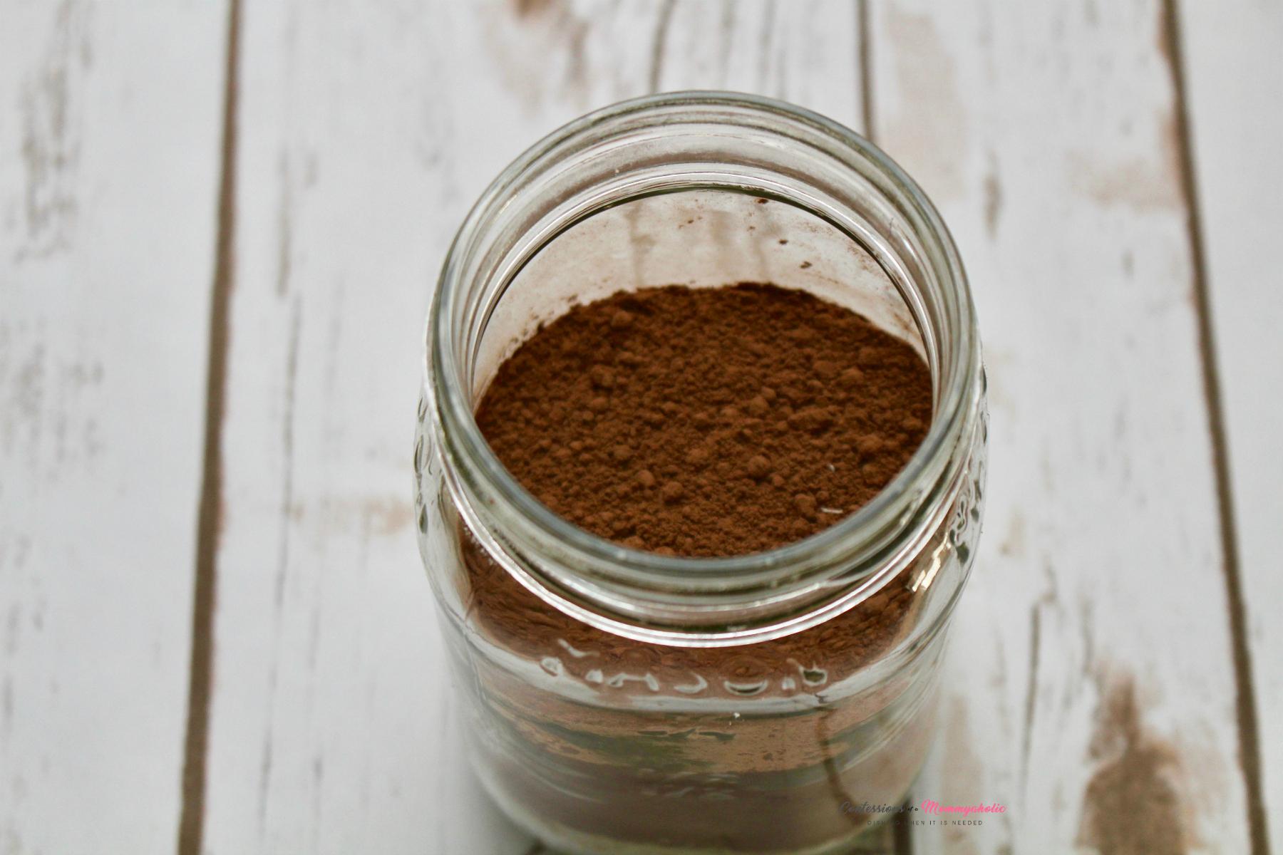 Cocoa Powder Layer