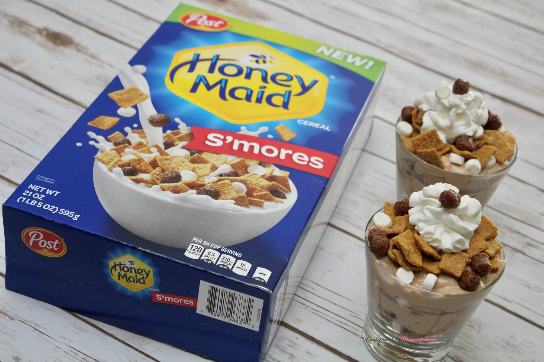 Honey Maid S'mores and Finished Parfait Cups