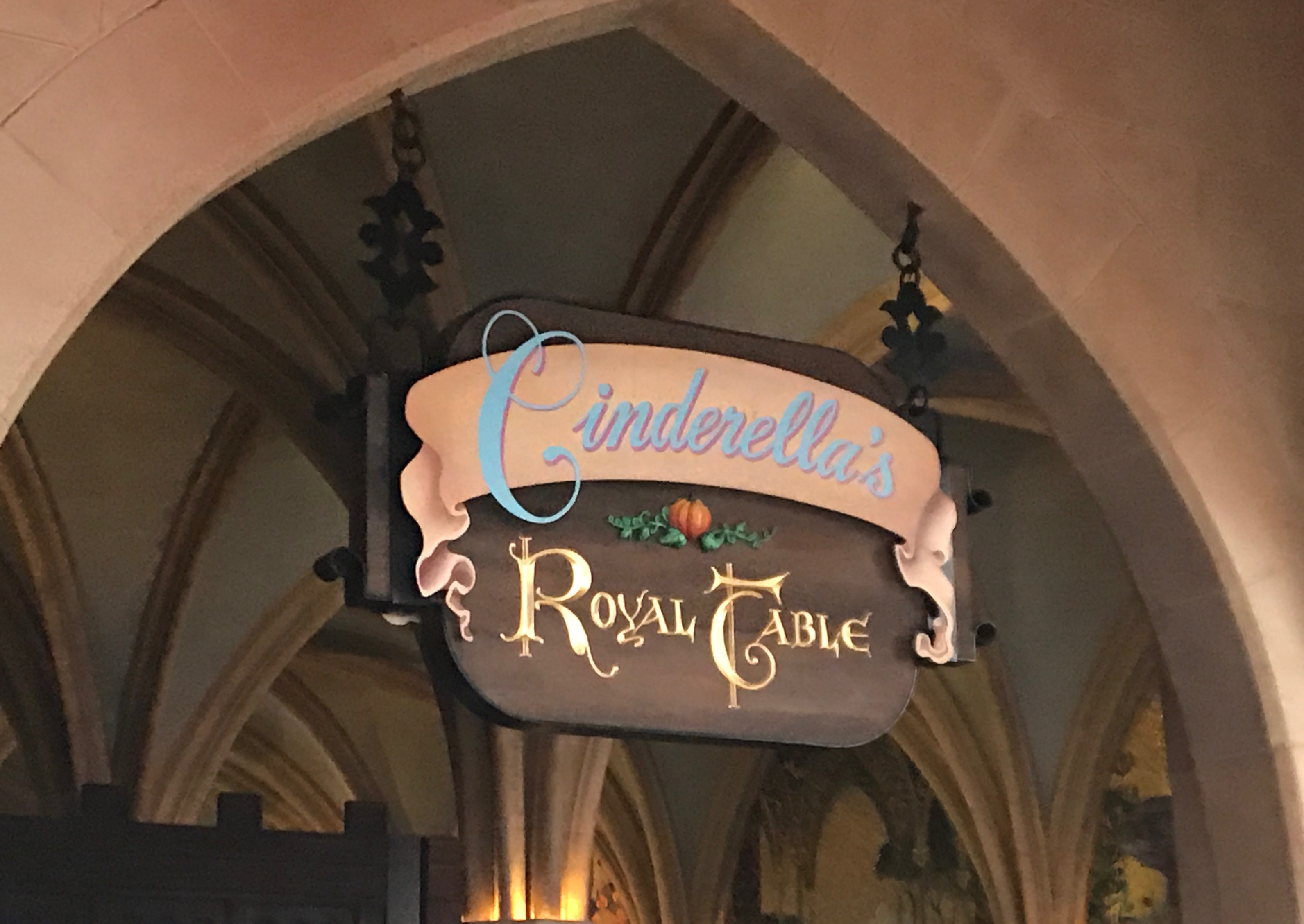 Cinderella's Royal Table in Disney World