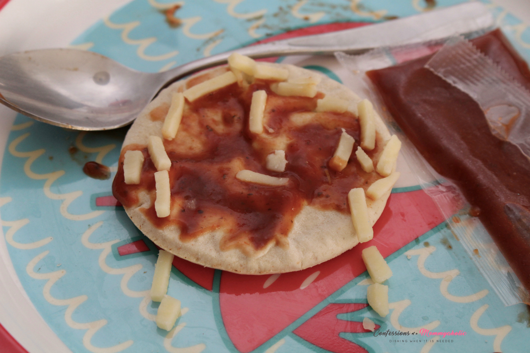 Lunchables Face Pizza Made for Me to Eat