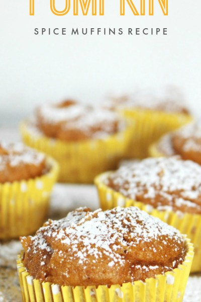 Quick And Easy Pumpkin Spice Muffins