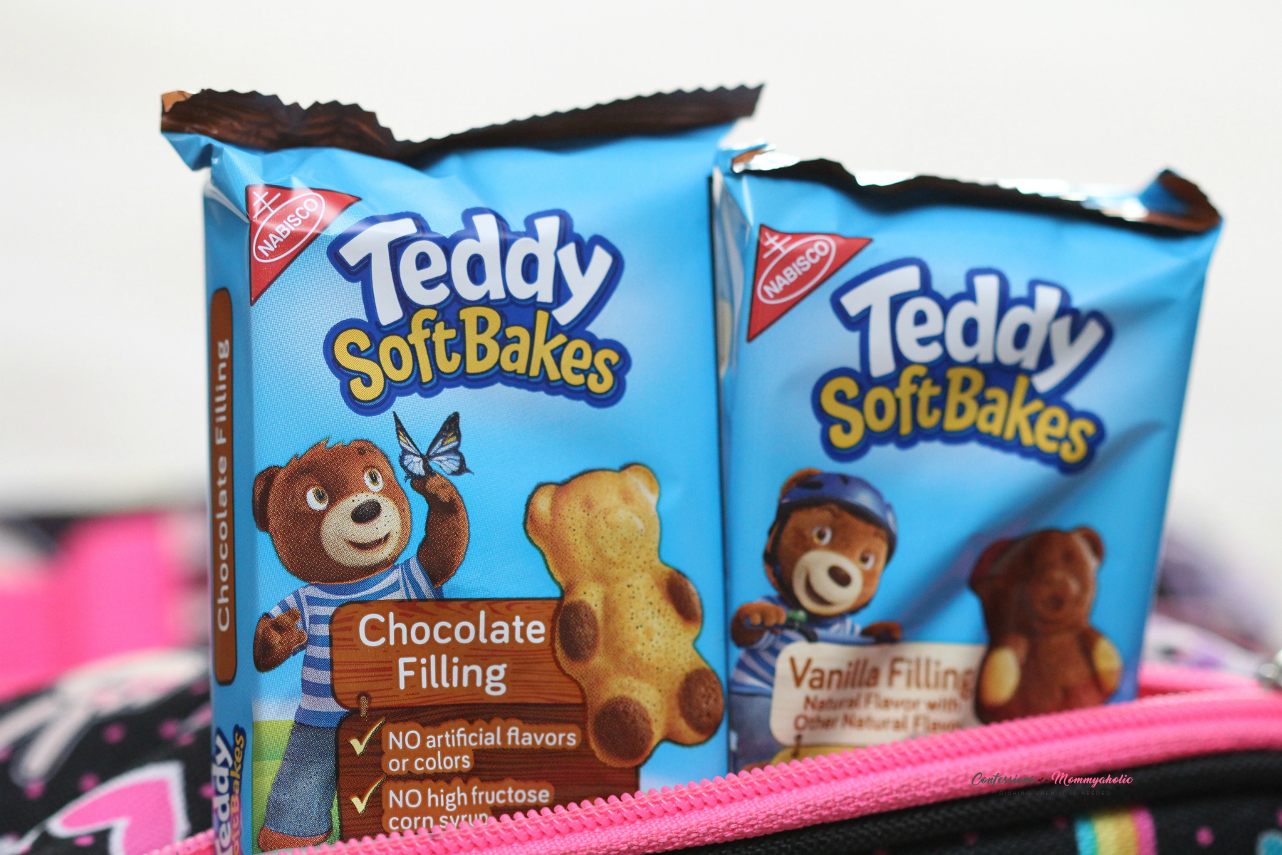 Teddy Soft Bakes Horizontal in Snack Bag