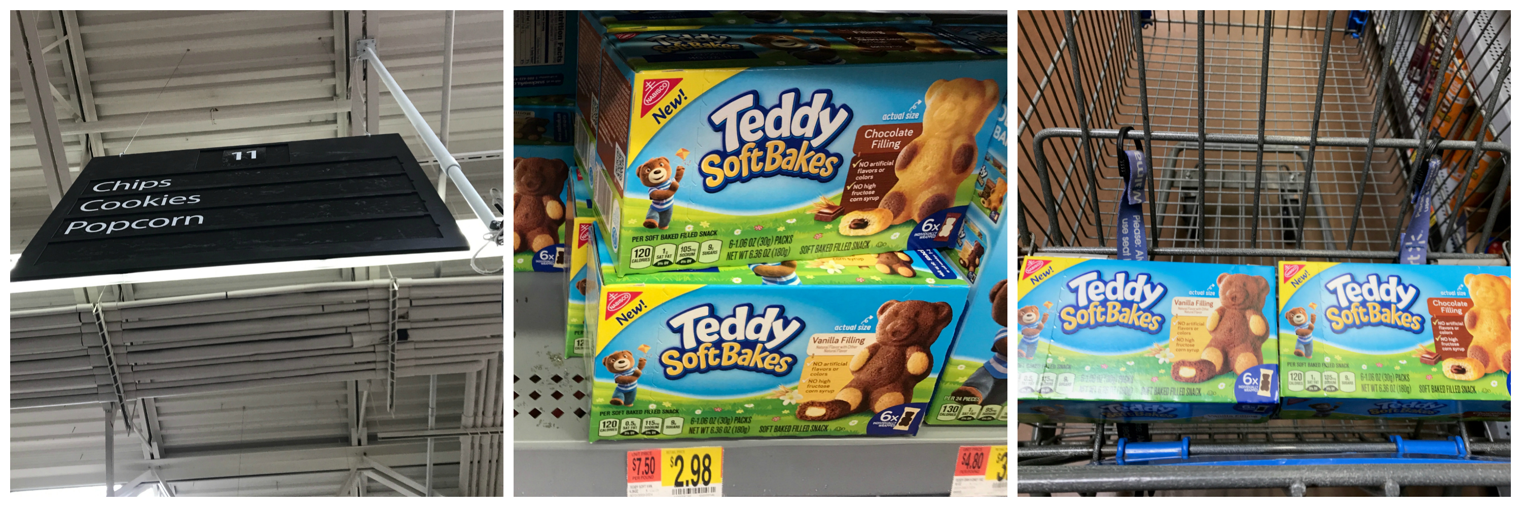 Teddy Soft Bakes Walmart In Store Photo