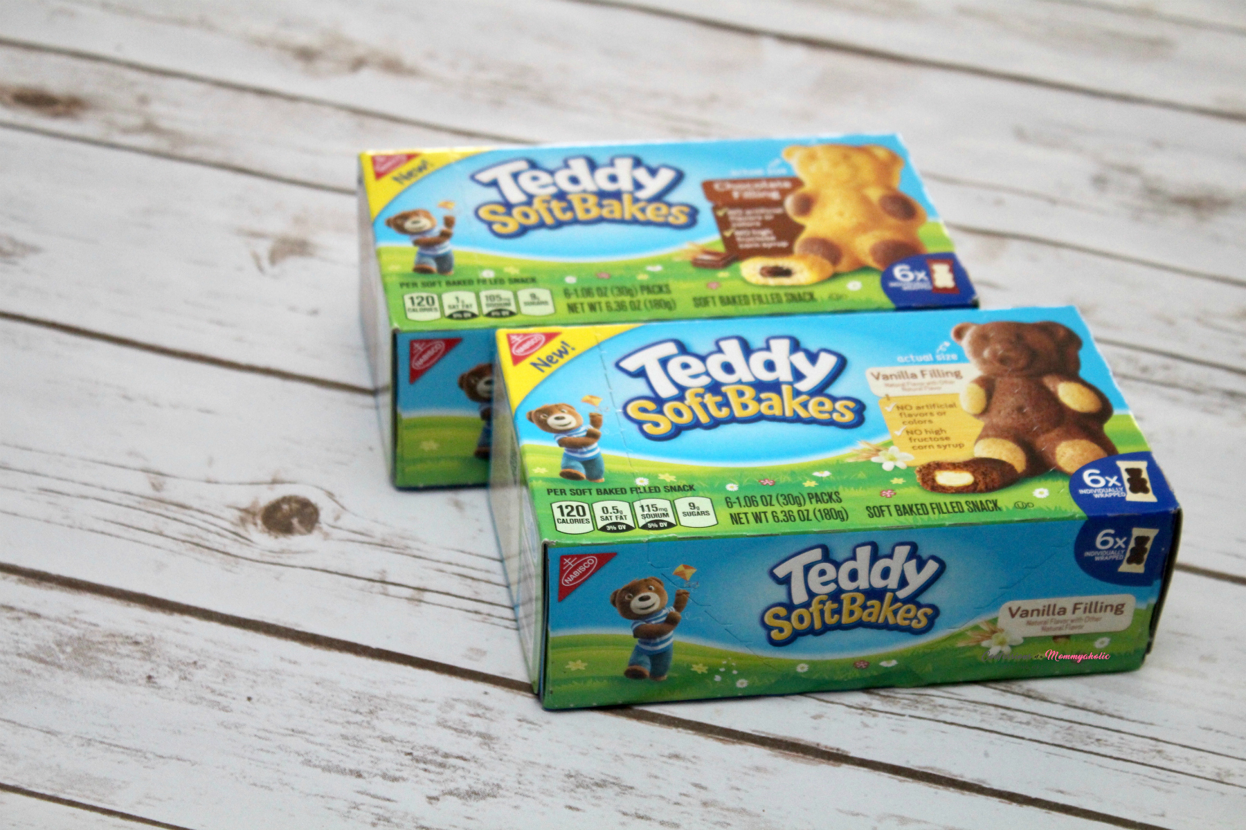 Teddy Soft Bakes in Boxes