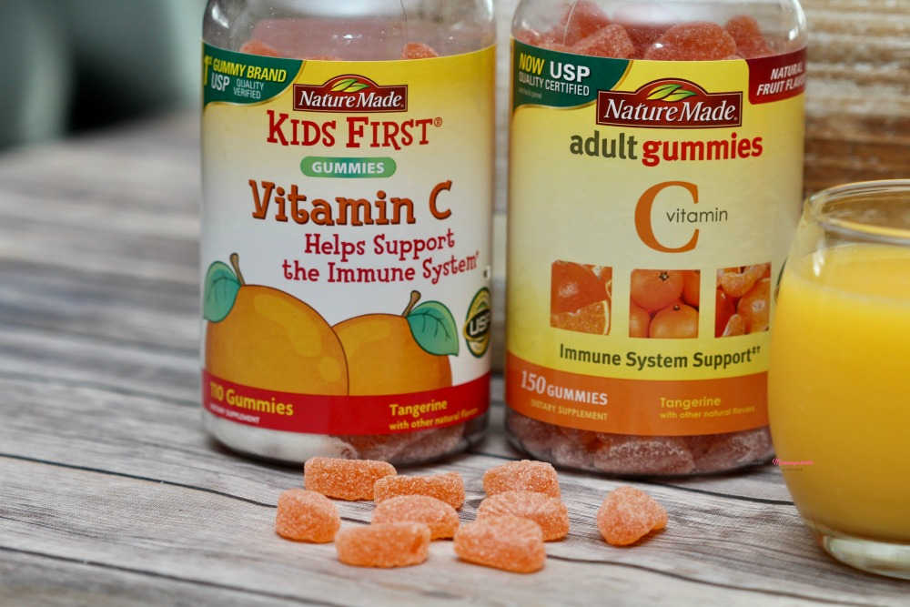 Adult and Kids Nature Made Vitamin C