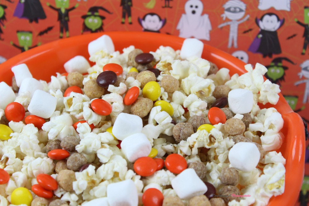 Halloween Snack Mix Horizontal