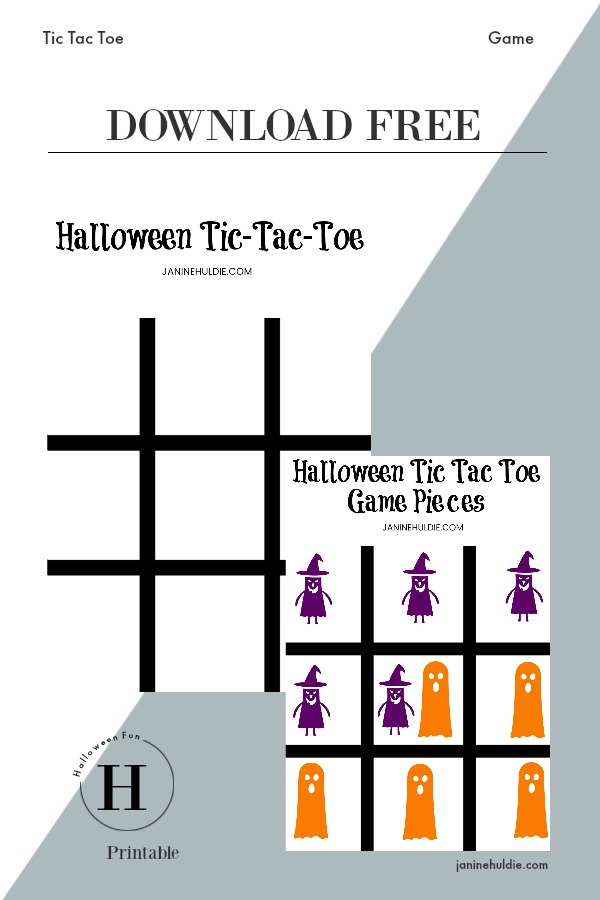 graphic about Printable Tic Tac Toe identify Tic Tac Toe Halloween Activity Totally free - This Mothers Confessions
