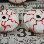 Monster Eyeball Donuts Horizontal
