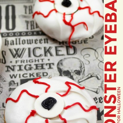 Monster Eyeball Donuts Recipe