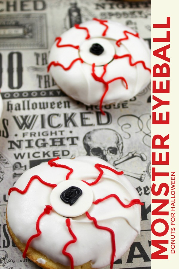 Monster Eyeball Donuts