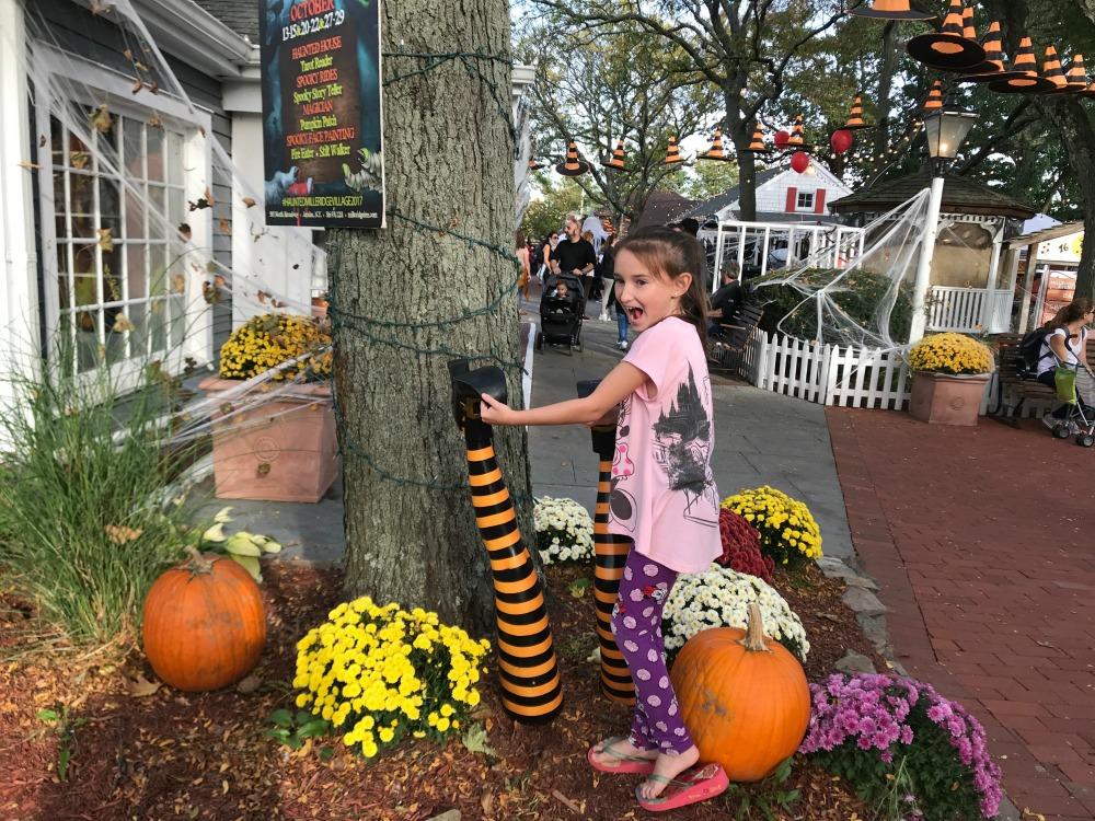 Witch Legs Fun at Milleridge Inn for Halloween 2017