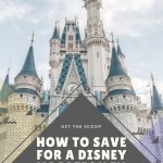 How to Save for a Disney Vacation in One Year with FREE Printables
