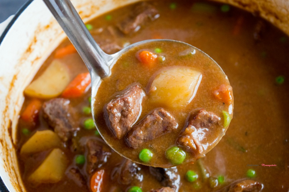 The Perfect Beef Stew Horizontal