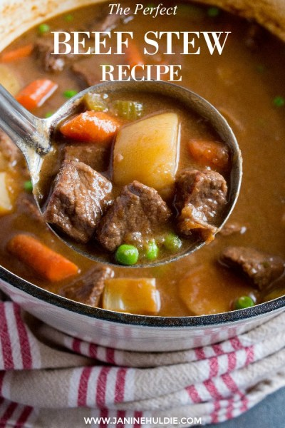 The Perfect Beef Stew Recipe