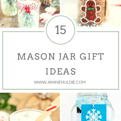15 Mason Jar Gifts Ideas