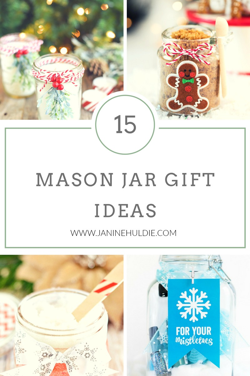 15 DIY Christmas Mason Jar Gifts - Confessions of a Mommyaholic