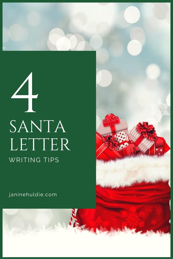 4 Santa Writing Tips