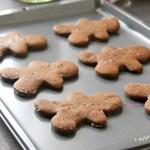Gingerbread Man Cookies Baked