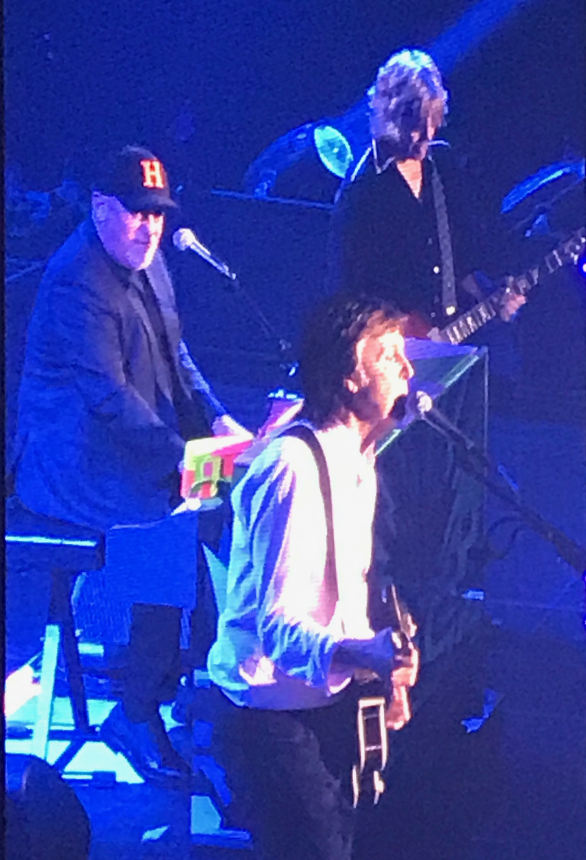 Paul McCartney and Billy Joel at Nassau Coliseum for The One on One Tour