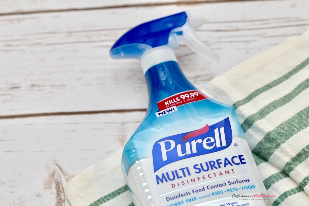 PURELL Multi Surface Disinfectant Closeup